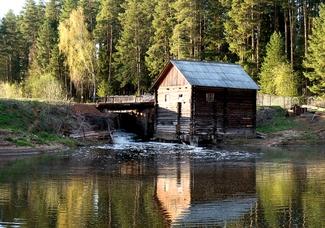Водяная мельница. Деревня Турынгурт