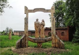 Парк деревянных скульптур. Ува